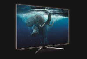 """Grundig 55 VLO 9895 BP - Smart TV de 55"""" con control de voz Alexa y tecnología OLED (UHD 4K, HDR, 3480 x 2160, WiFi, Quad-Core) Color Negro"""