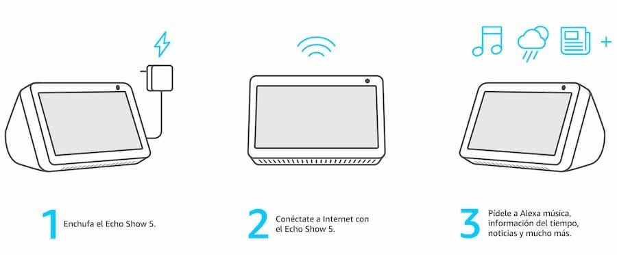 configuracion echo show 5